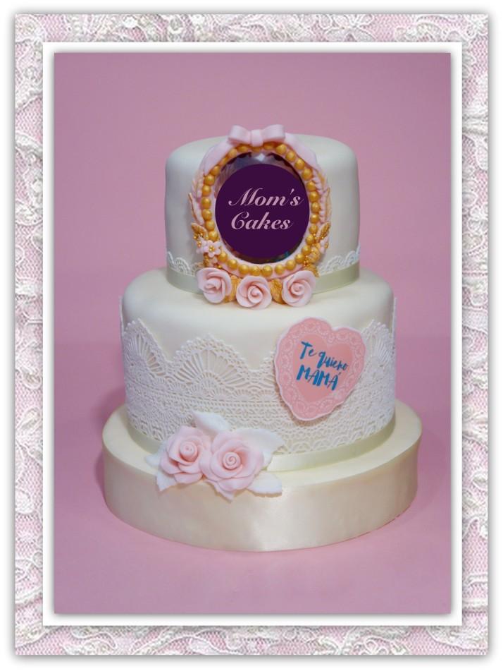 Pastel Día De La Madre Moms Cakes